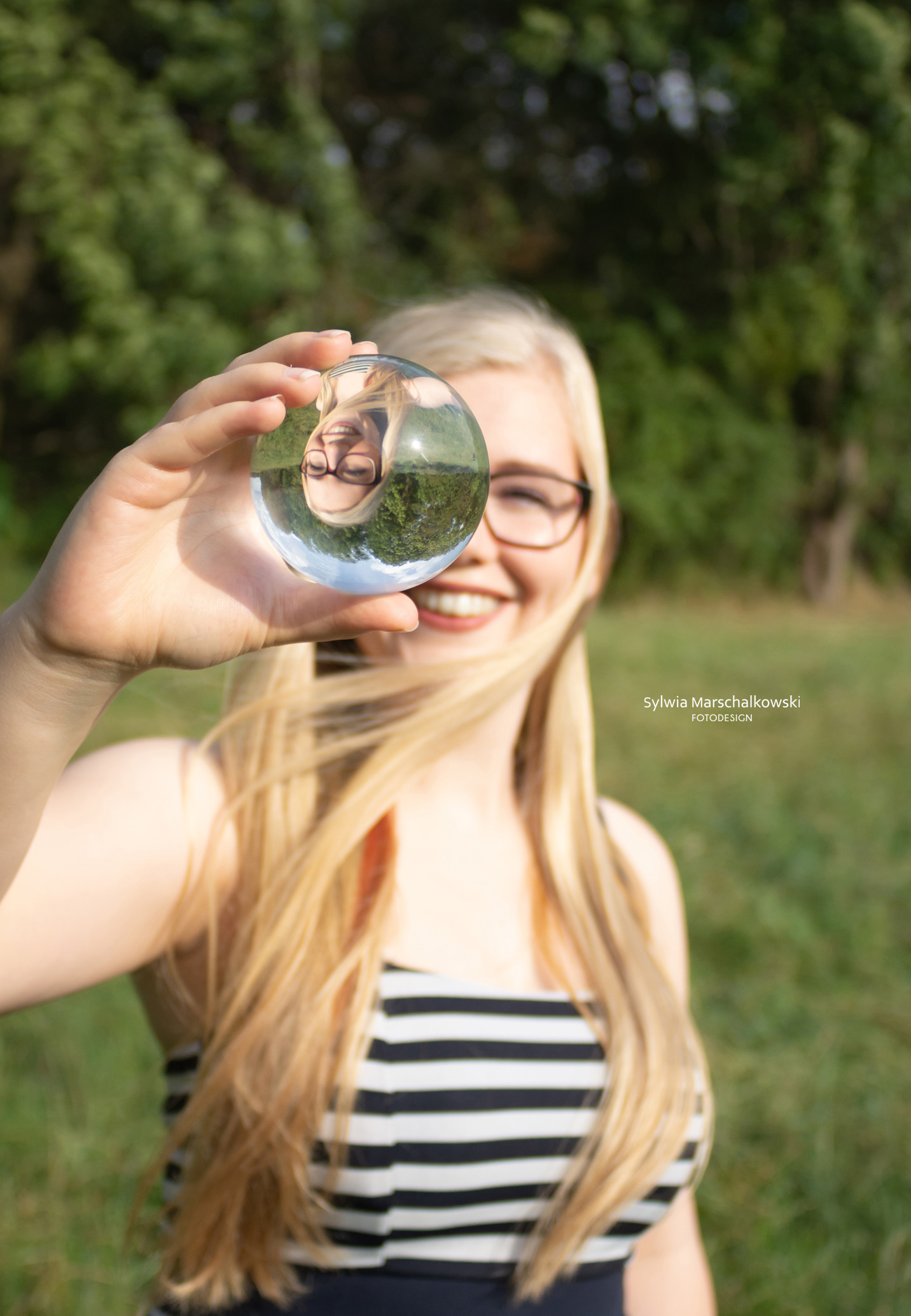 Lensball Portrait