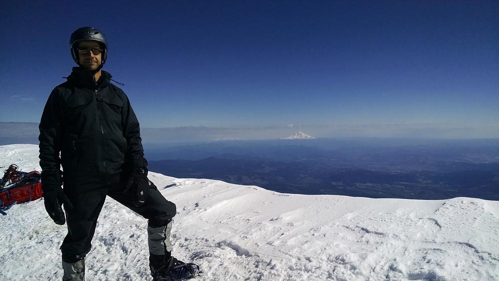 Greg on the summit.