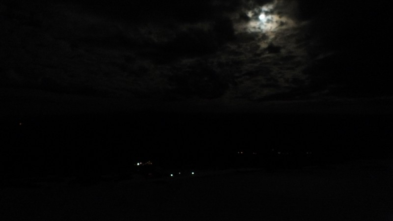 Not a great night photo, sure, but the only one my camera deigned to take.