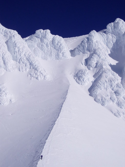 I didn't get a good photo of The Hogsback on the way up, but here's a great one. Click for source.