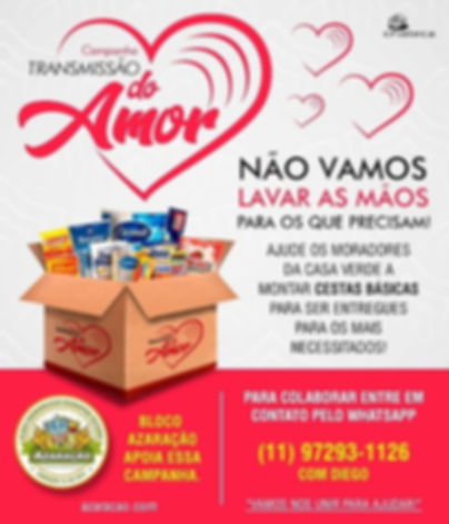Vila do Samba apoia essa Campanha.