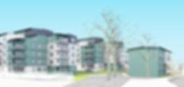 Bostäder Fljället Skissprojekt