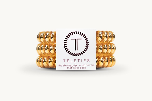 Teleties (Champagne Gold) Small
