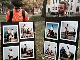 Beautiful Moments in front of Mass Hall- come join us and check out the sch