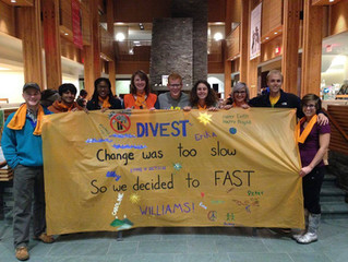 Together we stand! Solidarity from Divest Williams!