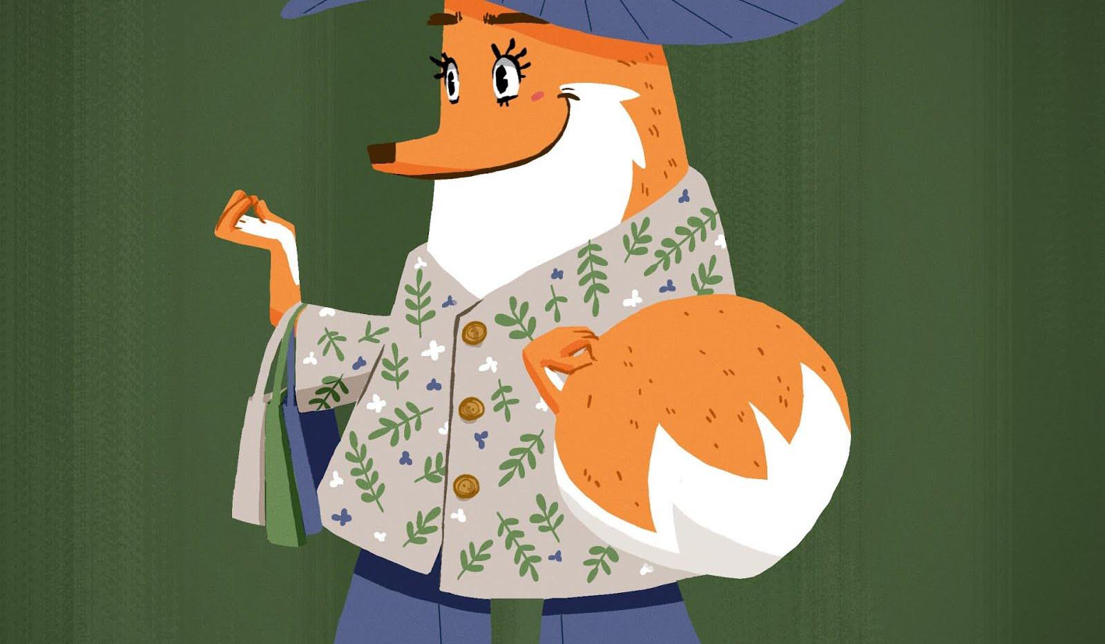 fashionista fox