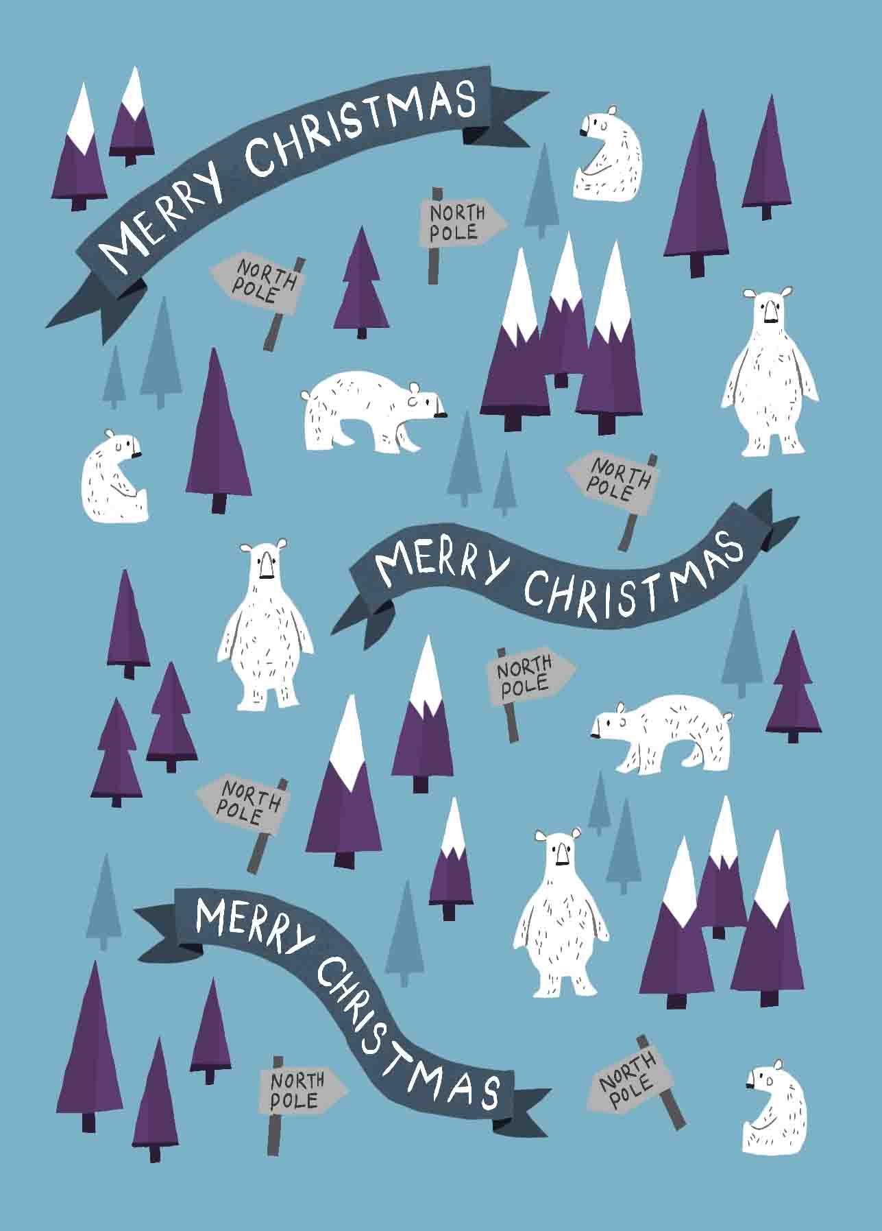 pattern polar bear
