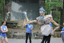 Puppeteering Thrym, the Frost Giant