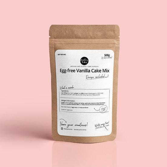Egg-free Vanilla Cake Mix