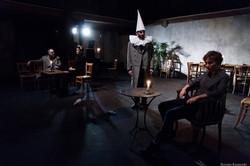 """Christian Benedetti, Marie-Sophie Ferdane, Stan et Nina Renaux dans """"Trois soeurs"""" d'Anton Tchekhov"""""""