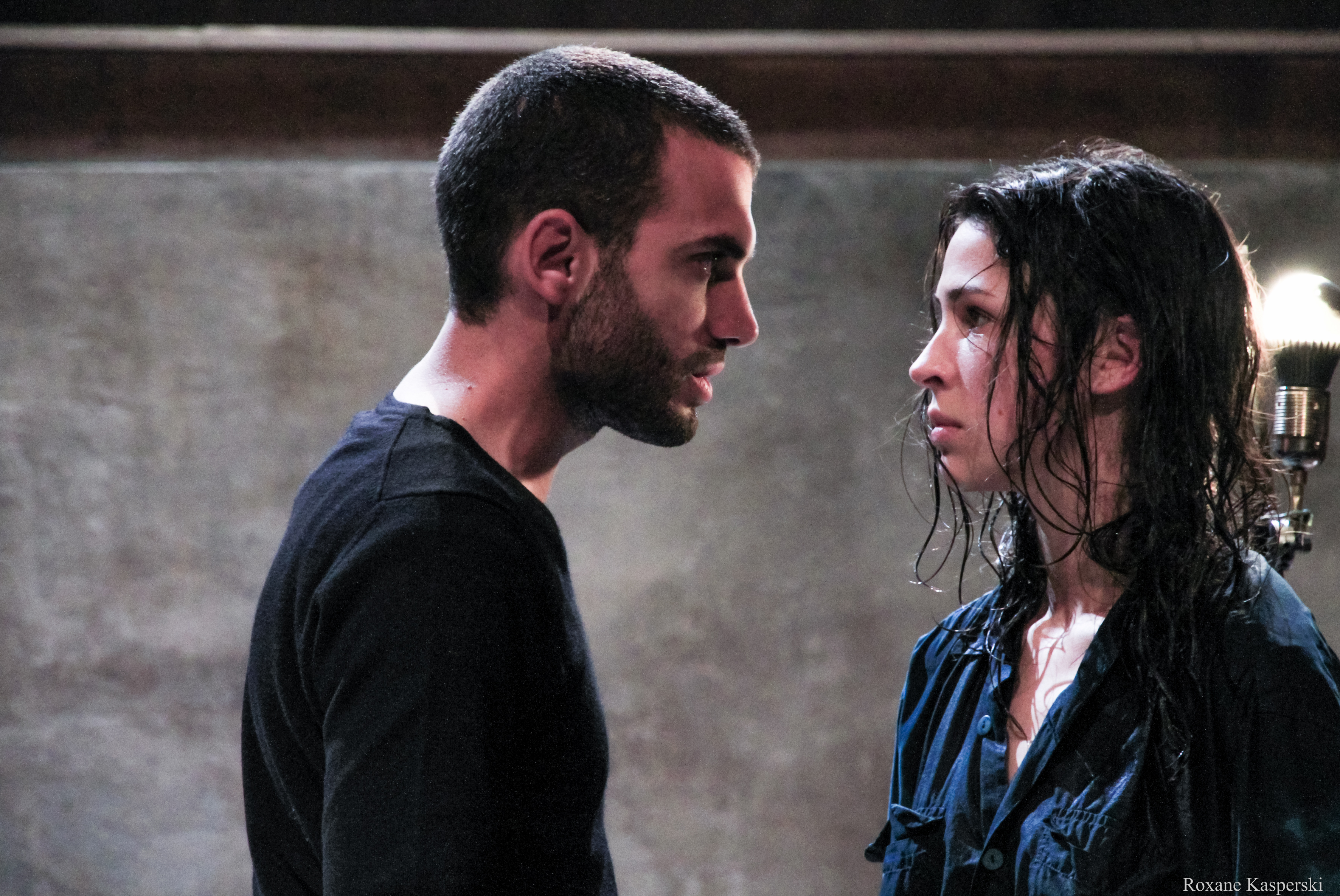"""Stan (Treplev) & Isabel Ayme Gonzalez Sola (Nina) dans """"La mouette"""" d'Anton Tchekhov mise en scène p"""