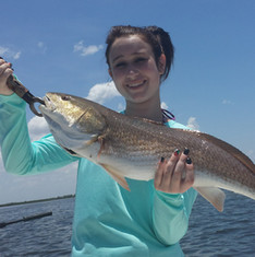 Fishing the Reds in Tampa Florida