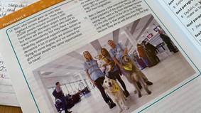 Scottish Curriculum features our Canine Crew