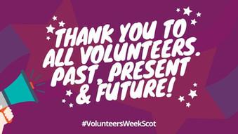National Volunteers Week (1st - 7th June)