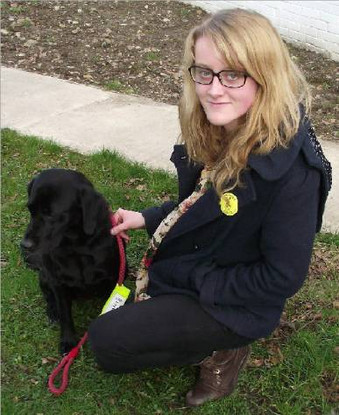 Young Therapet Volunteer Makes a Difference