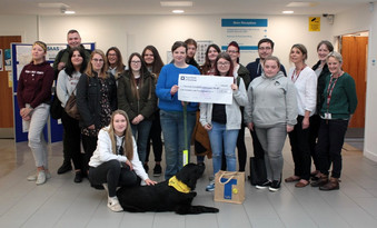 STUDENTS SUPPORT THERAPET CHARITY