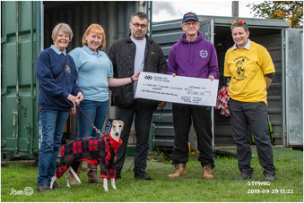 Scottish Thistle Pedigree Whippet Racing Club - Fund Raising for CCST