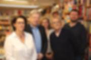 Elisabeth Chombart, Bruno Dewaele, Cassandre Haussy, Bernard Pivot, Vincent Bécart