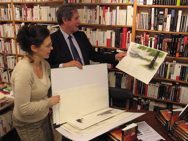 Elisabeth Chombart et Jean-Louis Debré