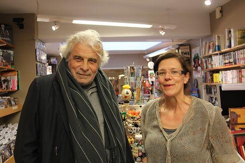 Jacques Weber et Elisabeth Chombart