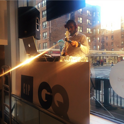 Live @ The Gap Men's Store in NYC