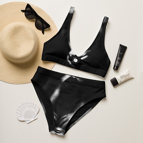 FROM A TO BE Recycled High-Waisted Bikini