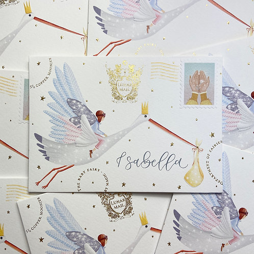 A Letter from the Baby Fairy - Welcome to the World