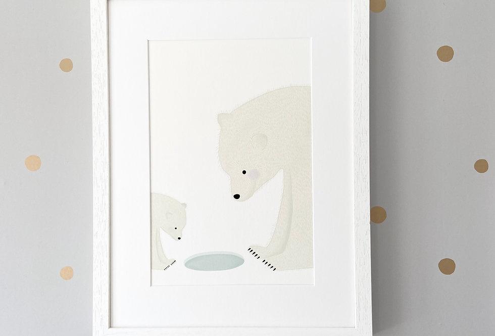 'The Polar Pond' Fine Art Giclee Print