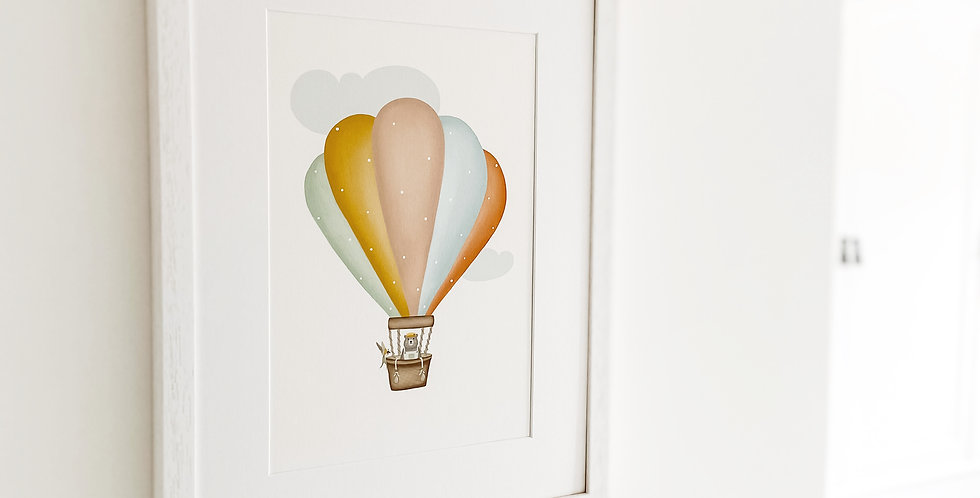 'Up and Away' Fine Art Giclee Print
