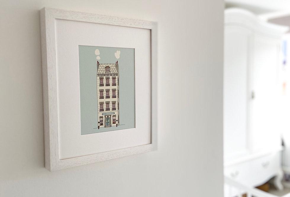 Mounted 'Toy Emporium' Fine Art Giclee Print