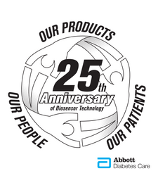 Abbott 25th Anniversary Logo