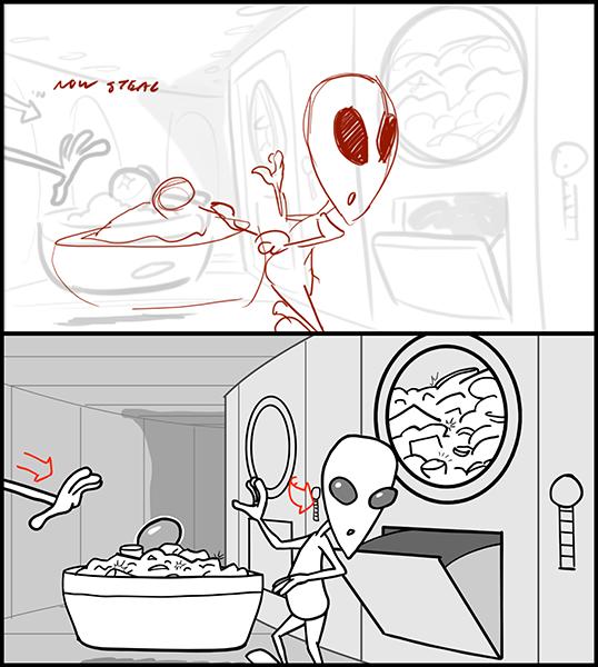 Alien Xmas Revisions - TEST