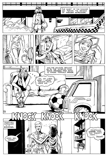 The Tap - Comic Page