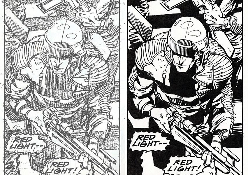 Comic Book Panel