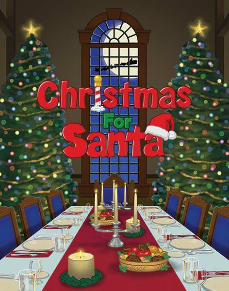 """Christmas for Santa"" Movie Poster"