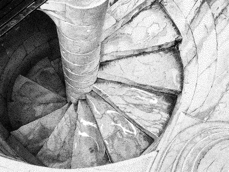Pisa Stairs