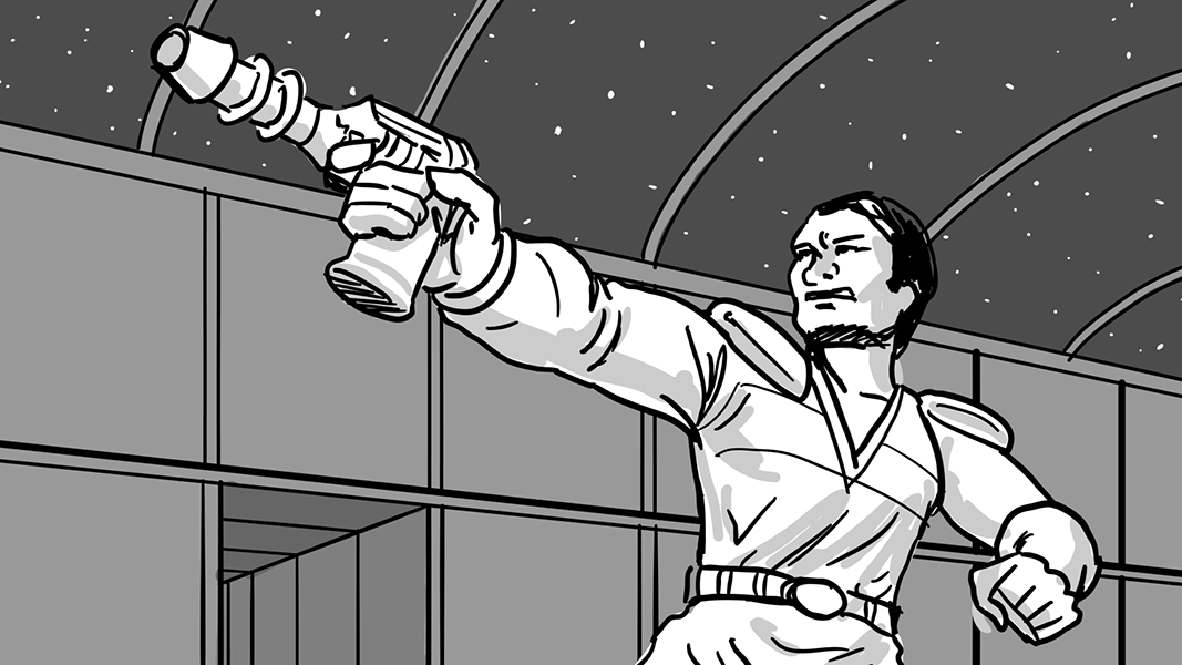 Space Gun Fight