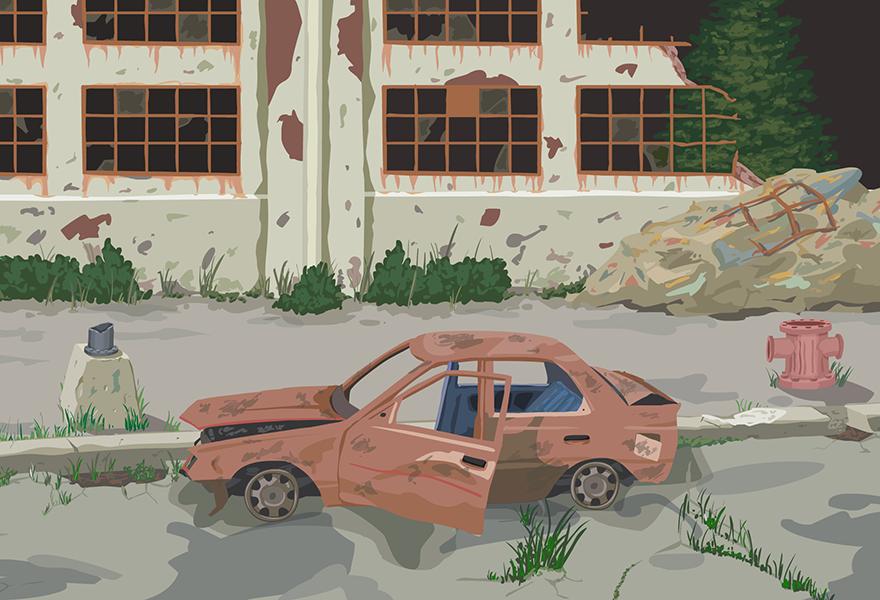 Apocalyptic Doodle: Renko's Unit
