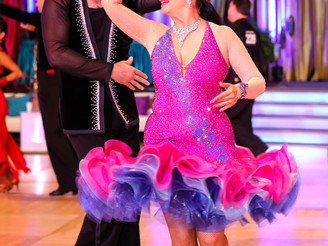 Conductor swings from Bach to Ballroom