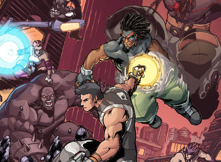 Interview with The Edge comic book creator Marvin Wynn