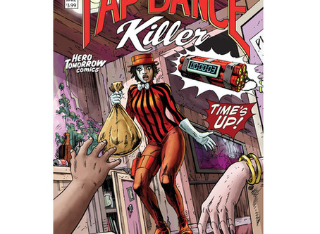 Interview with Apama and Tap Dance Killer comic book creator Ted Sikora