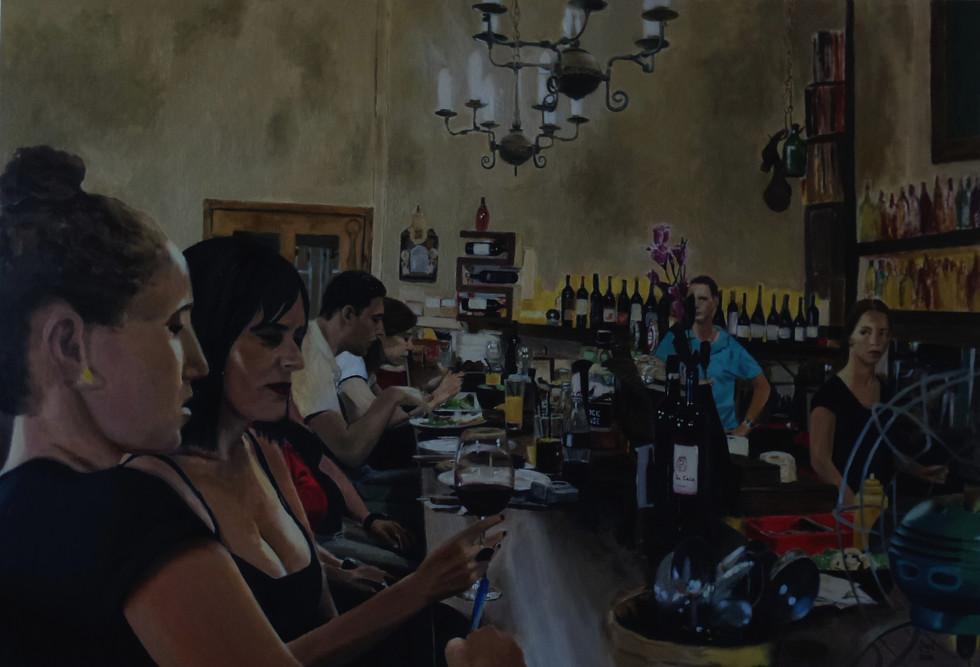 """במסעדת """"דוניה רוסה"""" - גרסה מס' 2"""