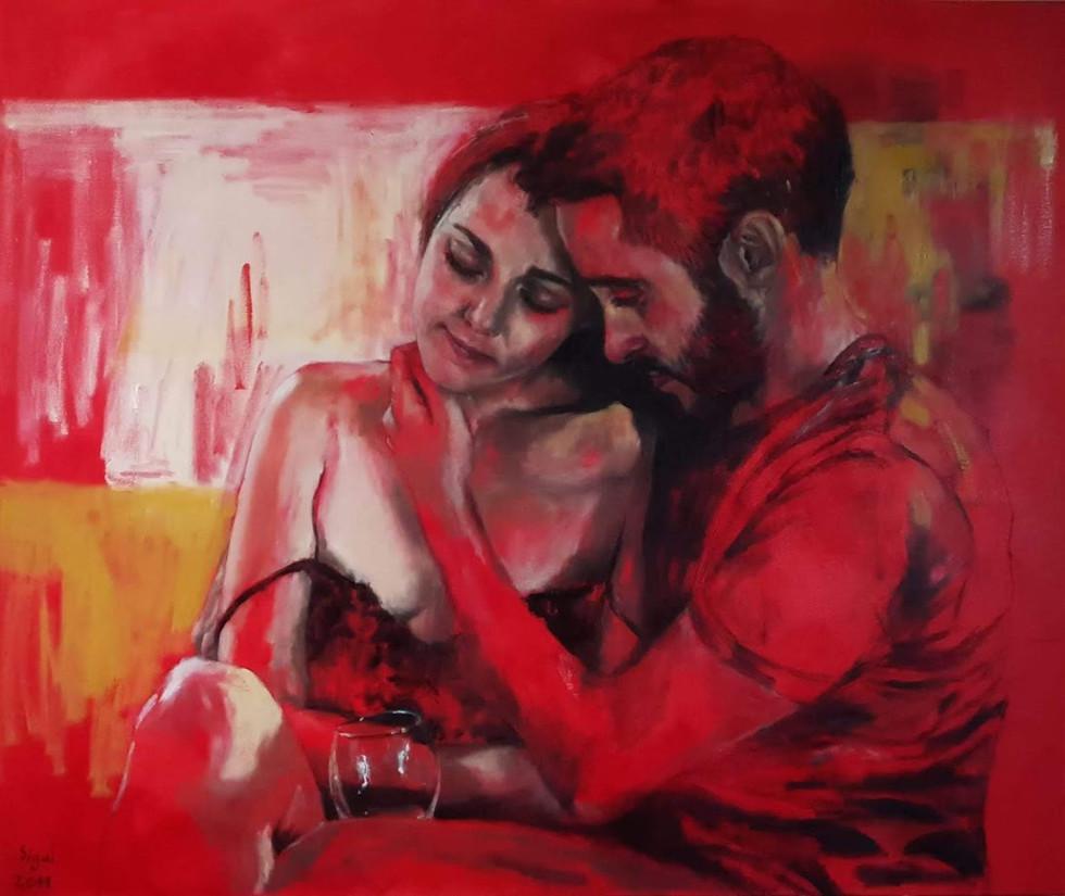 אהבה באדום