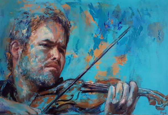כינור בטורקיז