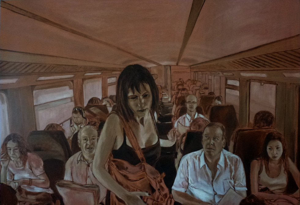בדידות ברכבת (מונוכרום)