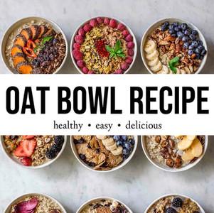 Quick & Nutritious Oat Bowl