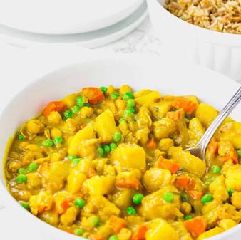 Jamaican Vegan Potato Curry