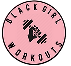 Black Girl Workouts Logo - Black Women Fitness Trainer
