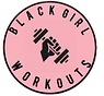 Black Girl Workouts Logo