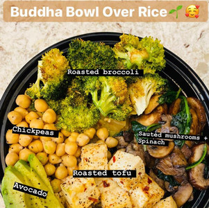 My BOMB Buddha Bowl Recipe